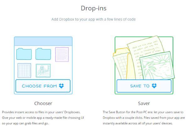 Dropbox - Chooser