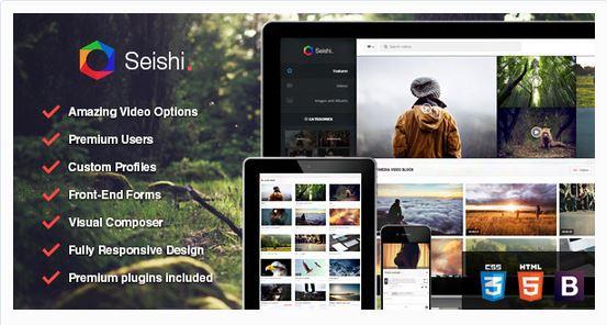 Thèmes vidéos WordPress - Seishi