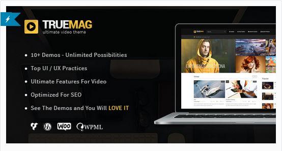 Thèmes vidéos WordPress - TrueMag