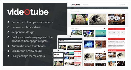 Thèmes vidéos WordPress - VideoTube