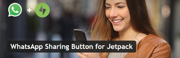 WhatsApp Sharing Button for Jetpack