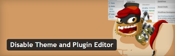 Disable Theme and Plugin Editor