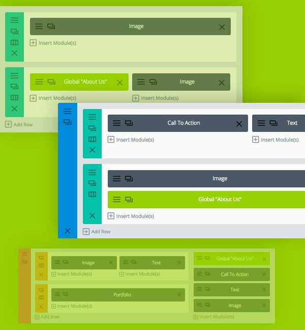 Divi Builder - Elements Globaux
