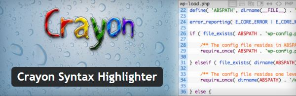 Insérer des exemples de code dans vos articles WordPress - Crayon Syntax Highlighter