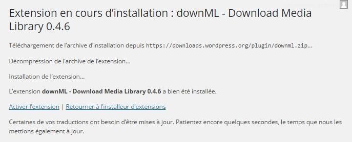 downML plugin