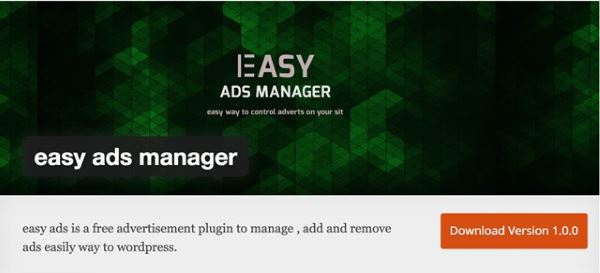 Easy Ads Manager
