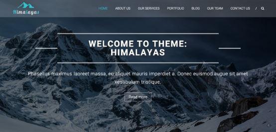 Thèmes gratuits Octobre 2015 - Himalayas