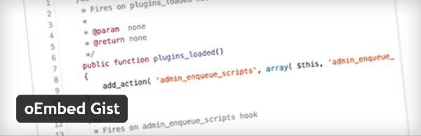 Insérer des exemples de code dans vos articles WordPress - oEmbed Gist