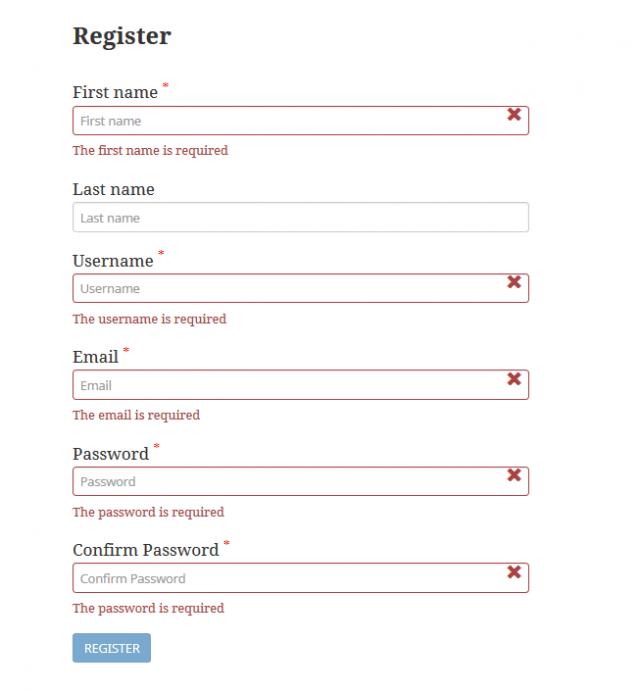 WP Custom Registration and Login