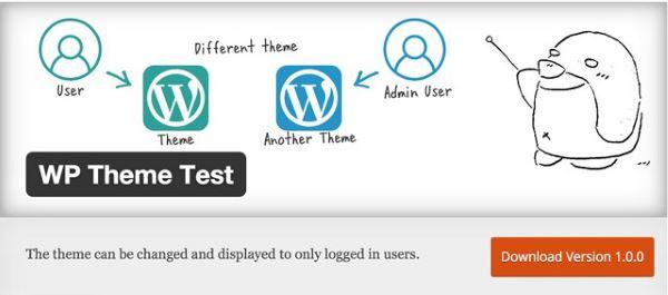 Plugin gratuits - WP Theme Test