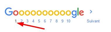 Conseils SEO - Classement Google