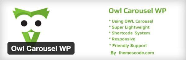10 nouveaux plugin WordPress gratuits - OWL Carousel WP