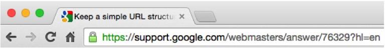 obtenir plus de clics - optimiser les URL pour le référencement