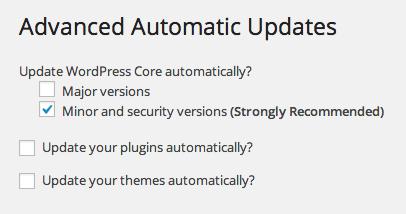 Advanced Automatic Updates