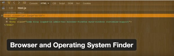 Browser and Operating System Finder