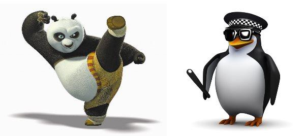 référencement organique - Panda & Penguin
