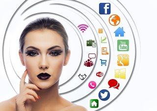 parte sur les réseaux sociaux