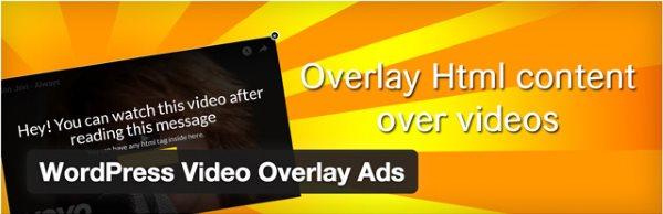 WordPress Video Overlay Ads
