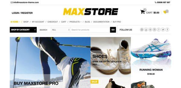 Thèmes gratuits - MaxStore