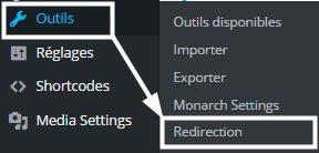 menu Redirection