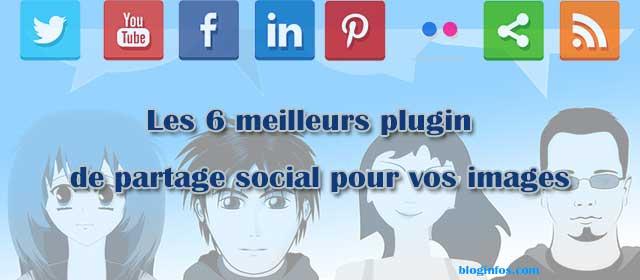 Les 6 meilleurs plugin de partage social d'images