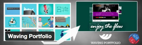Les 8 meilleurs plugin de portfolio pour WordPress - Waving Portfolio