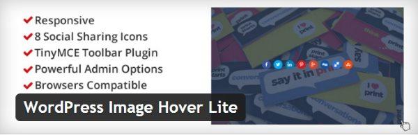WordPress Image Hover Lite