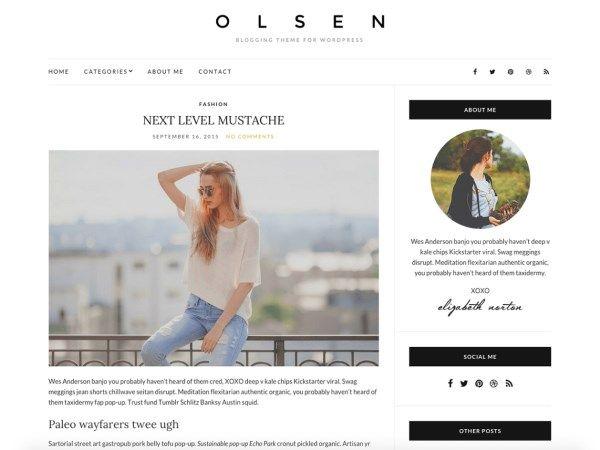 Les 10 plus beaux thèmes gratuits - Olsen