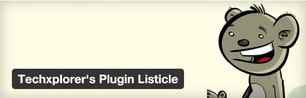 Techxplorer's Plugin Listicle