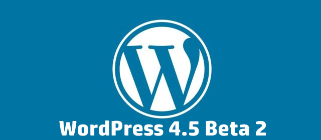 WordPress 4.5 - A quoi peut-on s'attendre?