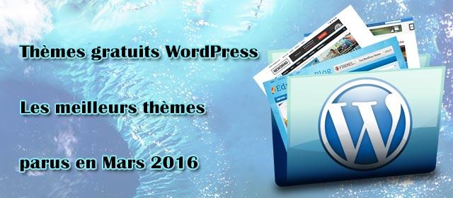 Thèmes gratuits WordPress