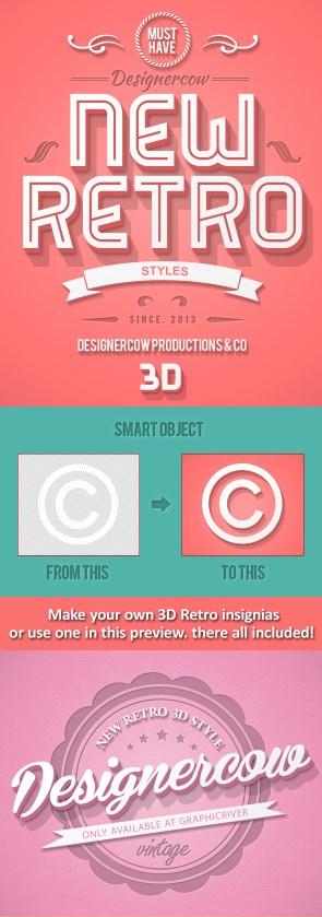 Envato - New 3D Retro Creator