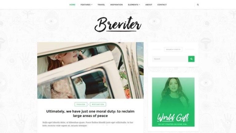 Les 10 plus beaux thèmes gratuits - Breviter