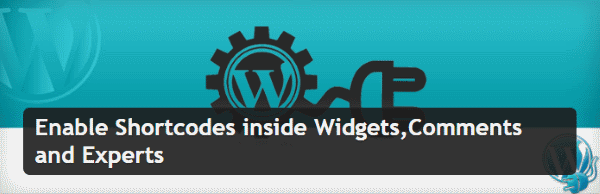 Enable Shortcodes inside Widgets