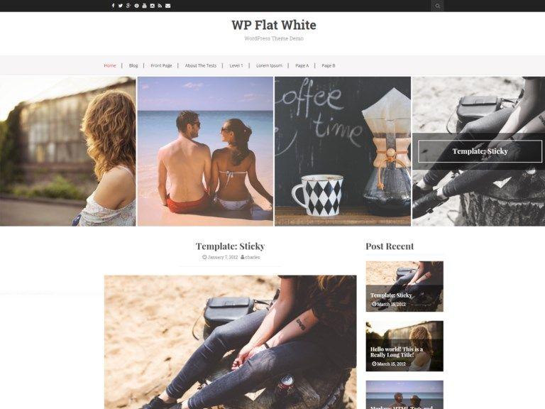 Les 10 plus beaux thèmes gratuits - Flat White