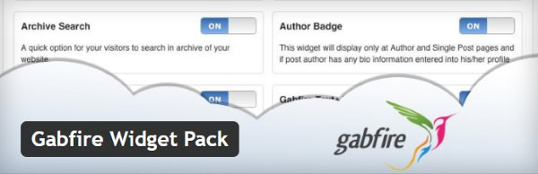 Gabfire Widget Pack