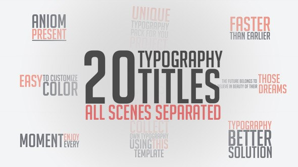 Envato - Unique Typography