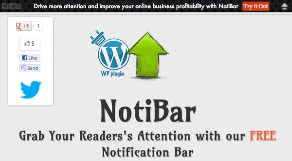 Notibar pour WordPress - Attirer l'attention de vos lecteurs