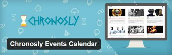 Chronosly Events Calendar