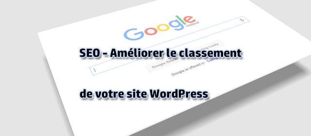 SEO - Améliorer le classement de votre site WordPress