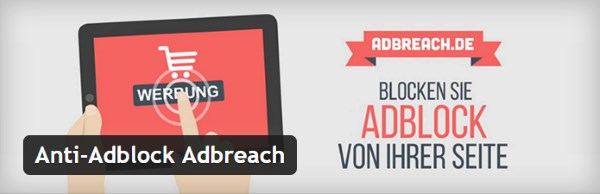 Plugin gratuits - Anti-Adblock Adbreach
