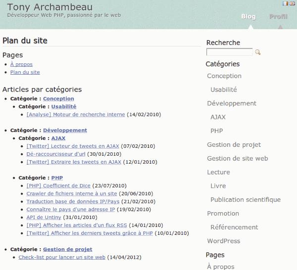 Sitemap List: Comment Créer Un Plan De Site HTML Dans WordPress?