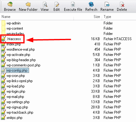 fichier htacess
