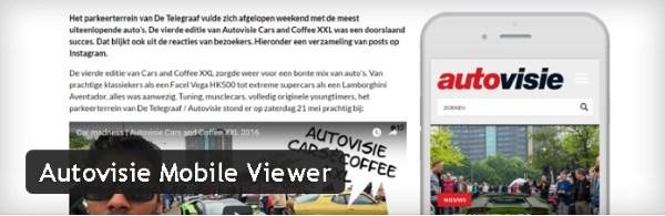 Autovisie Mobile Viewer - Plugin gratuits – Les meilleurs plugin parus en Juin 2016