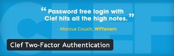 Authentification à deux facteurs - Clef Two-Factor Authentication