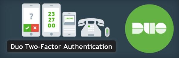 Authentification à deux facteurs - Duo Two-Factor Authentication