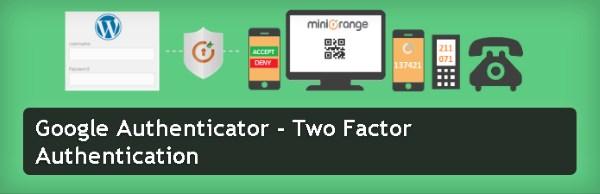 Authentification à deux facteurs - Google Authenticator
