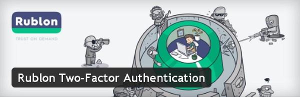 Authentification à deux facteurs - Rublon Two-Factor Authentication