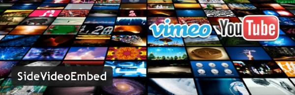 Side Video Embed - Plugin gratuits – Les meilleurs plugin parus en Juin 2016