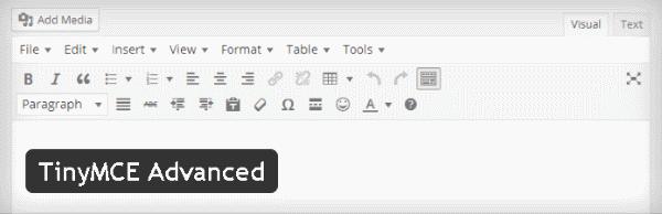 Créer des tableaux avec TinyMCE Advanced